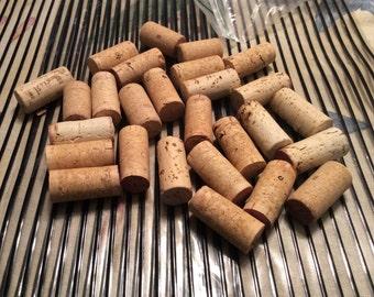 Used wine corks bottle stopper S 27 natural corks cork craft supplies bottle stoppers