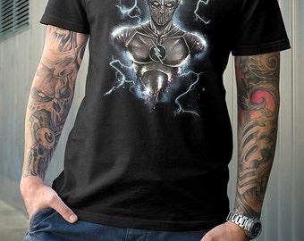 The Flash | Zoom Shirt | PREMIUM QUALITY | Barry Allen | DC Comics | Superhero | Villain | Comic Tee | Geek Clothing | T-Shirt | Geek Tee
