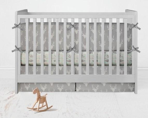 Woodland Nursery Bedding Set Etsy