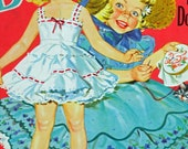 1954 Complete Paper Doll Book, Uncut, Betsy and Carol Paper Dolls #550