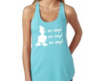 "Disney's Donald Duck ""Oh Boy"" Shirt // Disney Classic Character Shirts // Donald Duck Shirts // Mickey Mouse, Disney Tanks // Disney Tee"