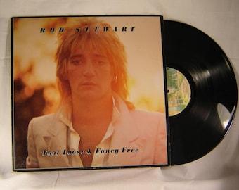 ROD STEWART - Vinyl Record Album - Foot Loose n Fancy Free - Warner Bros 1977 Release - Vintage Record Album - Vinyl Excellent Condition