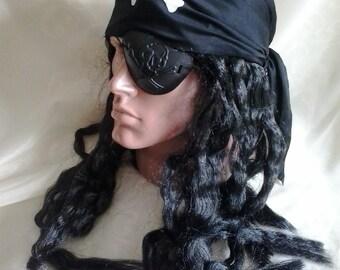 Bandana Pirate with a wig