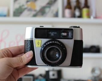 Plastic Fantastic Tickyphot 35 analog camera - 35mm lomography camera