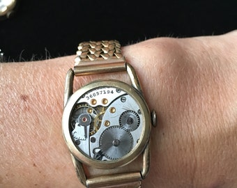 Women's Steampunk Vintage Watch Gear BRACELET