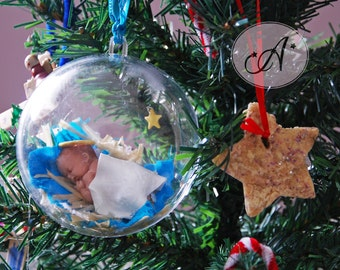 Baby jesus ornament etsy for Baby jesus christmas decoration