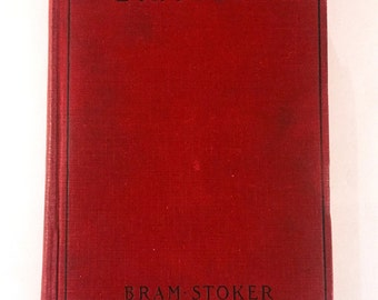 Vintage Book DRACULA by BRAM STOKER 1931 Grosset & Dunlap Photoplay Edition