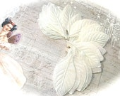 24 Iridescent  Leaves Vintage Floral Supply RB-265