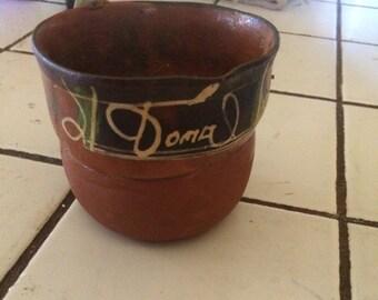 Vintage Mexican cup