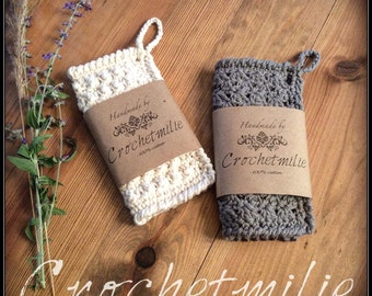 Cotton washcloth / Lavette de coton