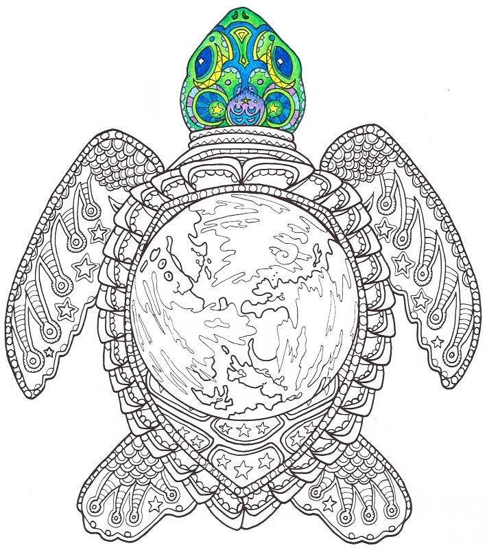Luscious image for printable turtle coloring pages