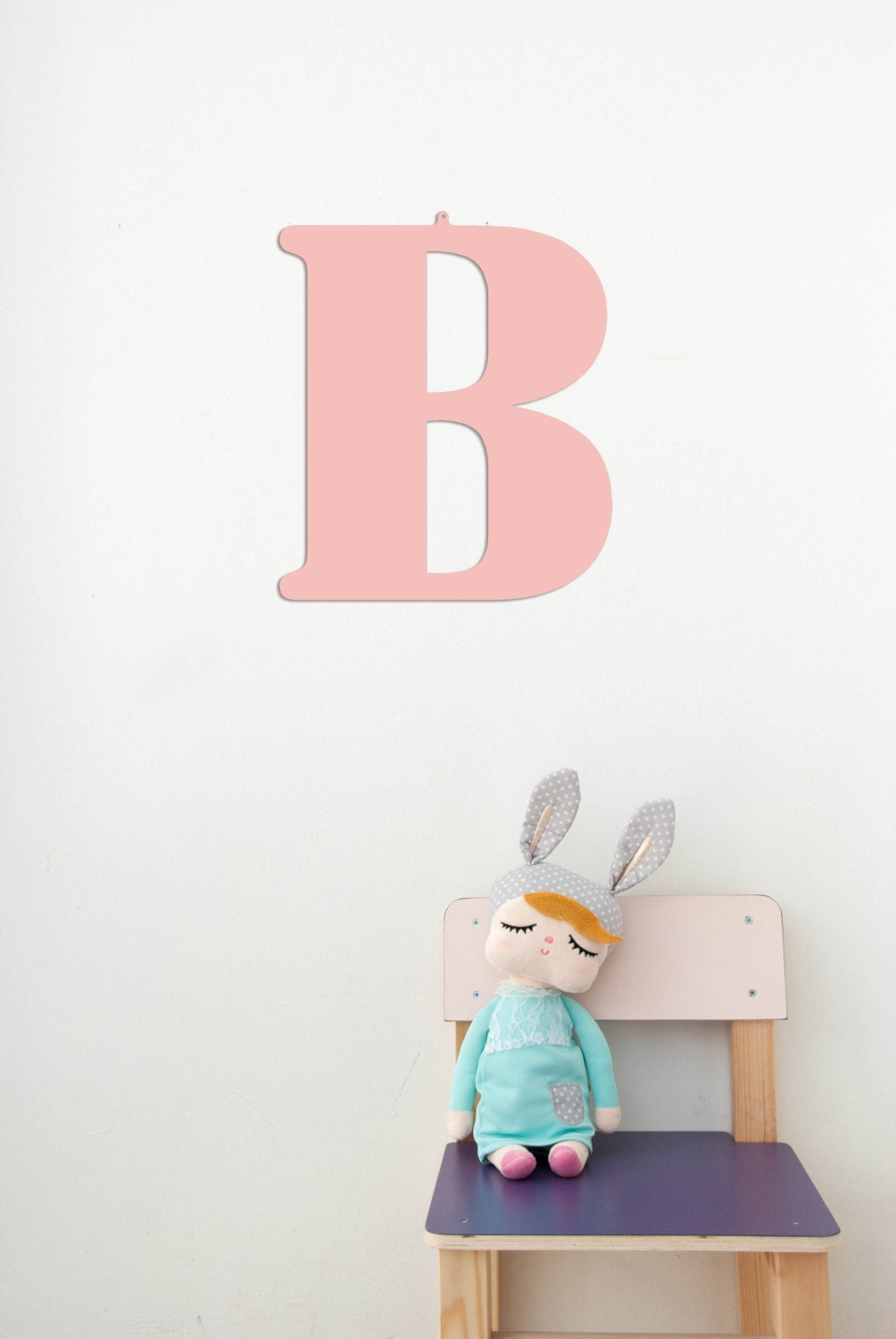 12 large nursery letter b wall metal for Large wall letters for nursery
