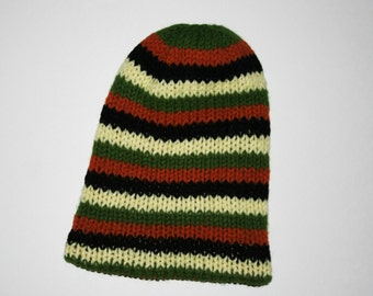 ON SALE striped knit hat