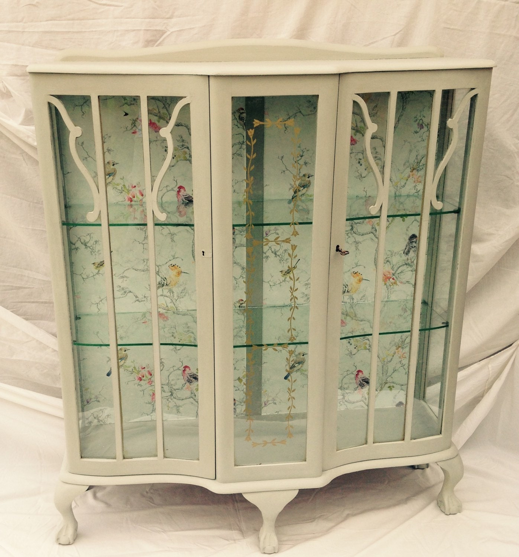 Vintage Display Cabinet, Art Deco, Glass Display Cabinet ...