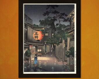 Japanese Art - Tsuchiya Koitsu Art - Ukiyo-e Art Home Decor Oriental Decor Asian Art Edo Period Japanese Artists Lantern  t