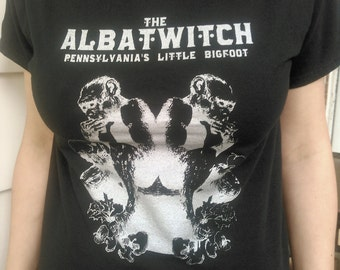 "The Albatwitch - ""Pennsylvania's Little Bigfoot"" - t-shirt cryptid cryptozoology PA"