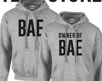 Bae Couple Hoodie Set - 245