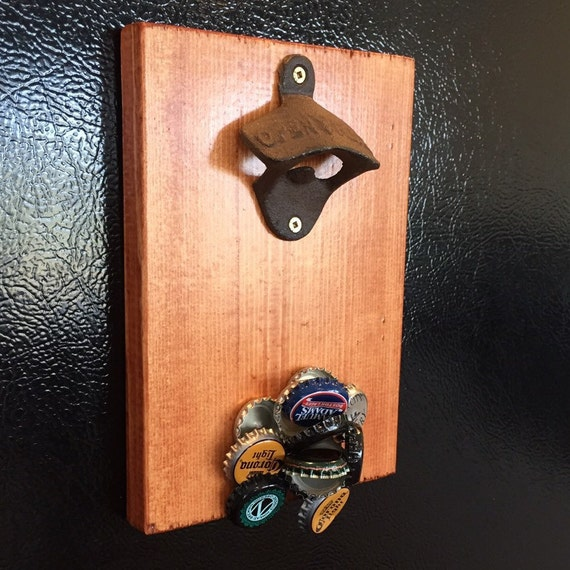 Magnetic Bottle Opener Fridge Mount