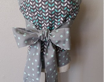 Baby Doll Carrier, Mint, Gray, Reversible