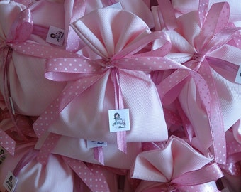 Set of 20 bags Bacon-wedding favors