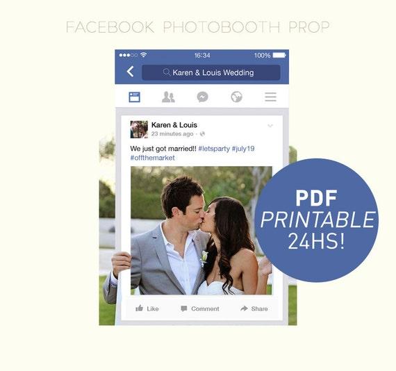 Social Media Photo Prop / DIGITAL FILE / Photo Booth Prop / Birthday Party, Graduation, Wedding ...