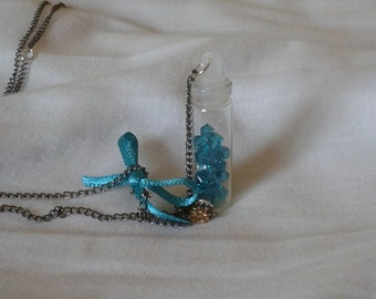 Pearls-in-a-Bottle Necklace