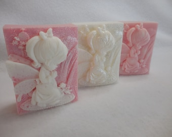 Angel Soap - Baby Angel Soap - Baptism Gift - Custom Angel Soap Favors - Christening Gift - Christmas Soap - Holiday Soap - Decorative Soap