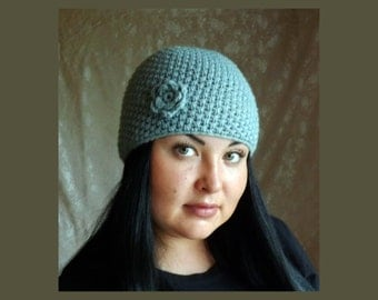 Knitted hat made to order , crochet hat, pretty hat, a hat for spring hat for fall