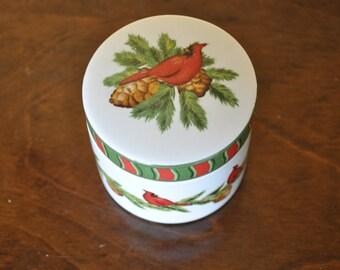 Christmas candy dish | Etsy