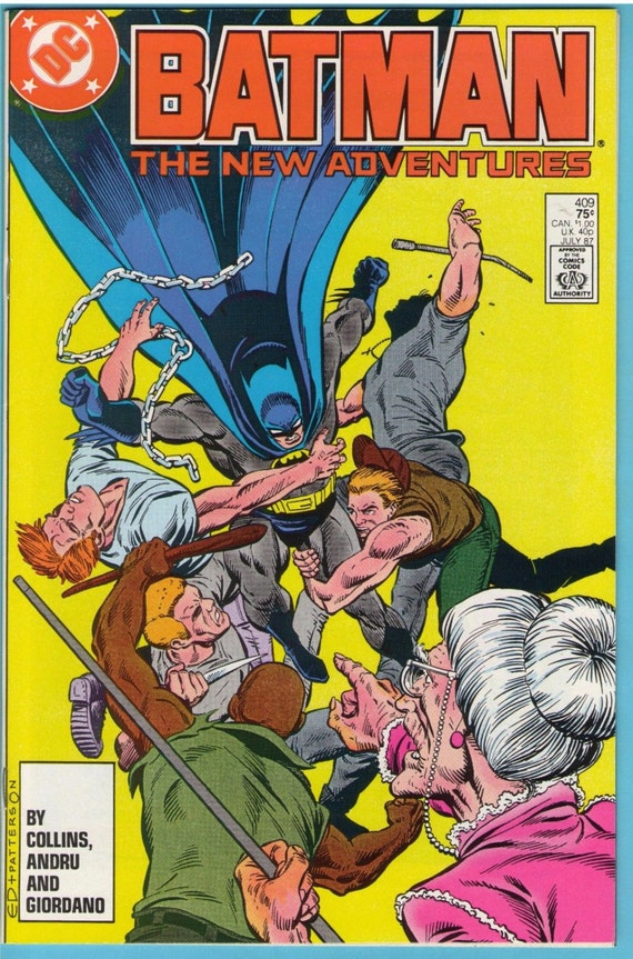 Batman 409 Jul 1987 NM- (9.2)