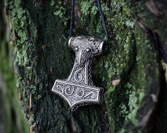 Raven Skane Thor's Hammer Mjolnir. Thor Hammer. Thor's  Mjöllnir. Viking Pendant. Thors Hammers. Scania Gotland Sweden