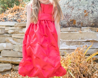 Red Valentine's Dress for Girls