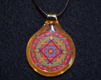 "Mandala Necklace - ""Helen"""