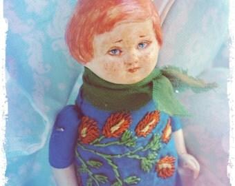 Miniature artdoll 1/12 dollhouse baby doll