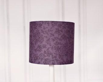 Grey Lamp shade, grey lampshade, purple lamp shade, table lamp, floor lamp, pendant light, black friday, grey home decor, handmade lampshade
