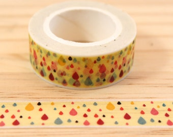 Masking tape drop, Washi tape, adhesive tape, decorative tape, scrapbooking