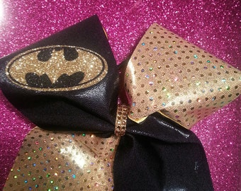Super Hero Batman Cheer Bow