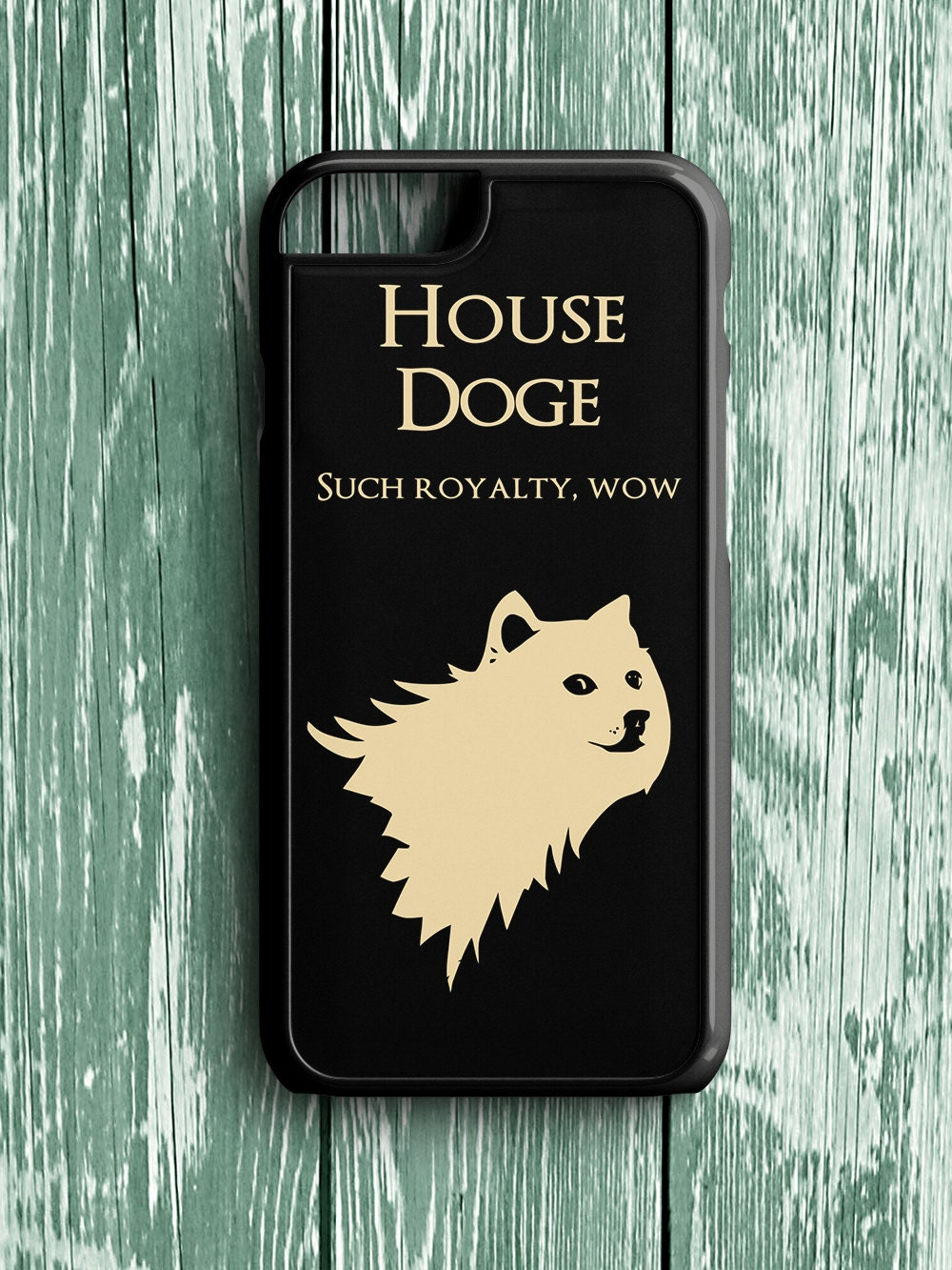 Case Design phone credit card case : Doge iPhone 6 Case Game of Thrones iPhone 5s Case Doge Game