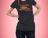 Back to the future - Biff Tannen - Quote - Funny - Women - Fitted - T-Shirt