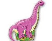 HUGE 43 inch Pink Dinosaur Baby Balloon- Colorful and great quality.