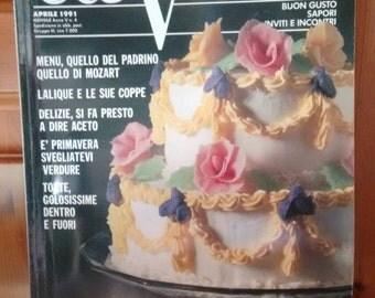 Vintage Italian Cooking Magazine - A Tavola