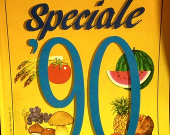 Vintage Italian Cooking Magazine - La Cucina Italiana 1990
