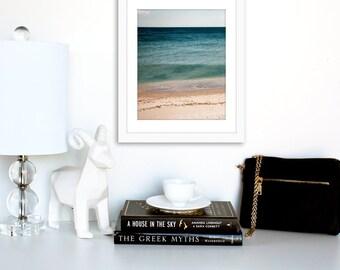 The Beach, Printable Poster, Digital Art, Beach Photo, Downloadable Print, Minimalist Poster, Digital download, Instant Printable Art