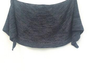 Hand knit, Shawl, Hand Made, Knit