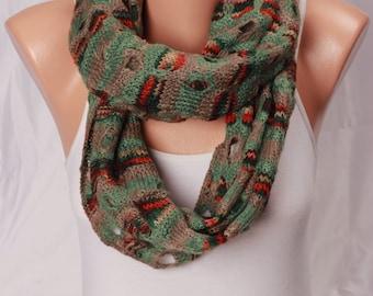 cowl scarf infinity scarf knit winter scarf green scarf knit scarf knit knitted scarves winter scarves womens scarves knitted scarf