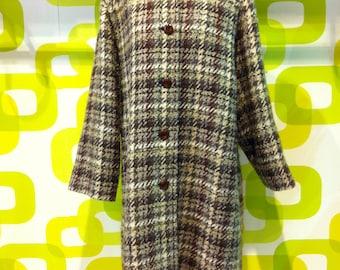 Aquascutum coat vintage 1980s, vintage coat, made in england