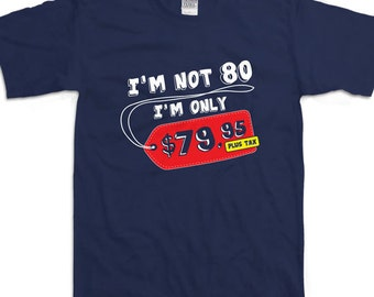 Funny 80th Birthday Shirt Gift Ideas For Eighty 80 Year Old