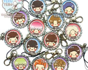 SEVENTEEN kpop - Mansae kpop mobile charm, plug , keychain