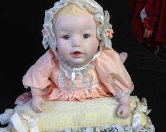 Ashton Drake Knowles Heather Doll -Yolanda Bello 2nd in Series Picture Perfect Babies Cllection - Vintage in Box - certificate