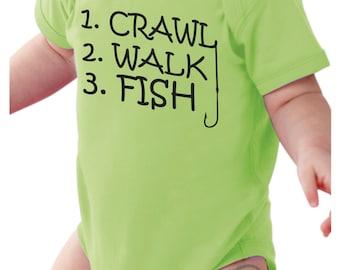 Fishing onesie | Baby Fishing Shirt | baby onesie | baby boy onesie | baby boy onesie